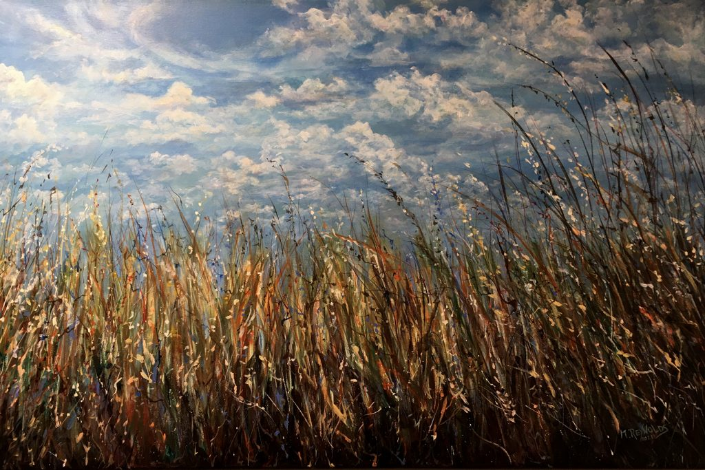 This image has an empty alt attribute; its file name is Marilyn_Reynolds-The_Sweet_Smell_of_Prairie_Grass-Acrylic-36x24-NFS-Marilyn_Reynolds_The_Art_Connection-1024x683.jpg